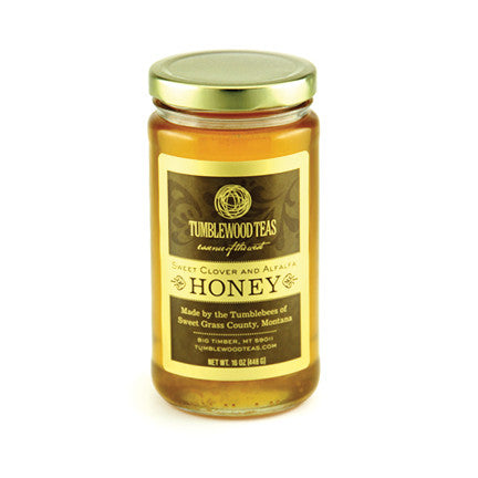 Montana Alfalfa/Sweet Clover Honey–Jar