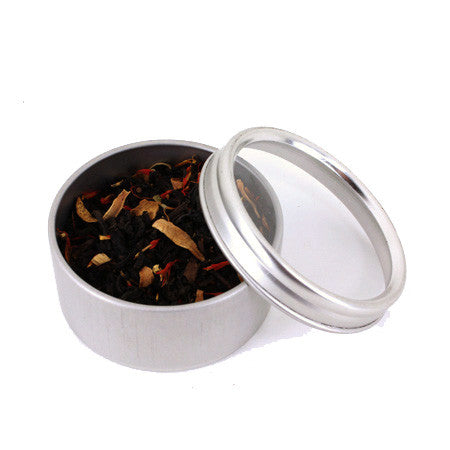 Sniffing Tin with Tea