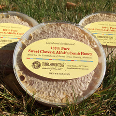 Sweet Clover & Alfalfa Comb Honey