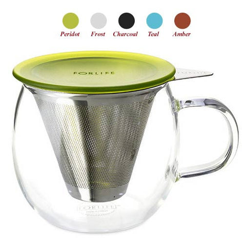 ForLife Lucidity Brew-in-Cup with Stainless Infuser