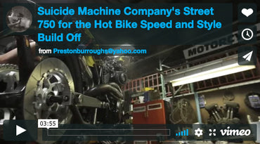 Hot Bike Magazine Speed and Style Harley Davidson Street 750