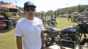 Aaron Guardado // Hot Bike Speed and Style Fabrication Showdown powered by Harley-Davidson