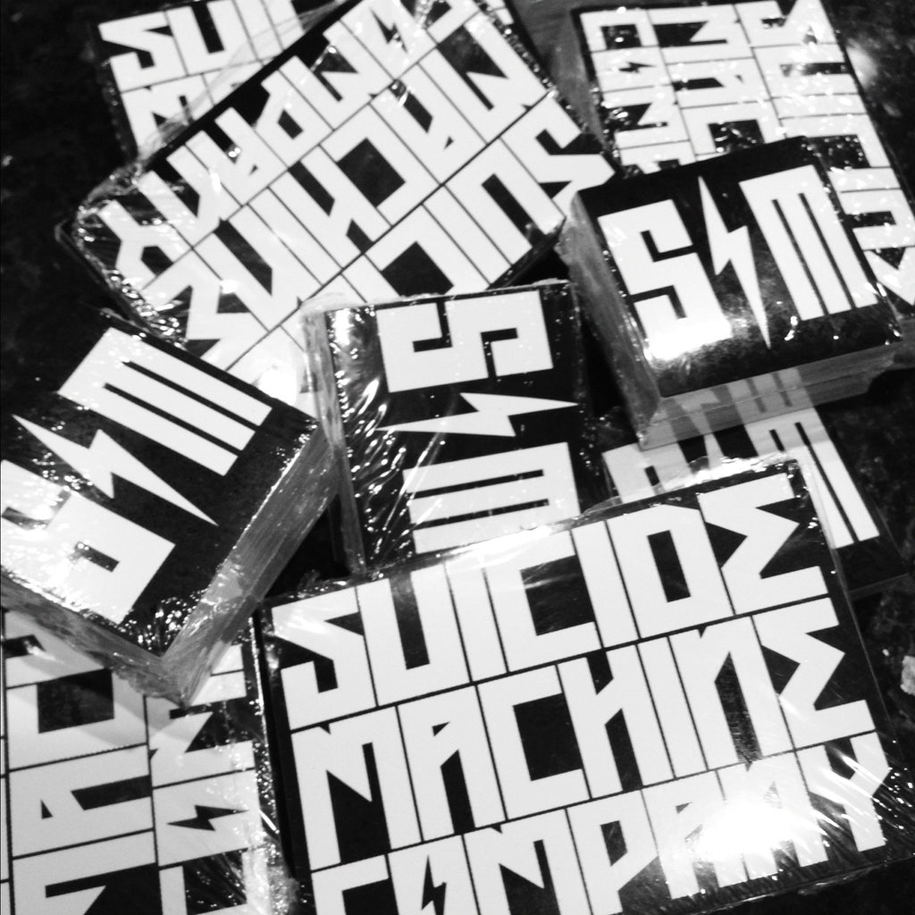 SUICIDE MACHINE CO STICKER PACK