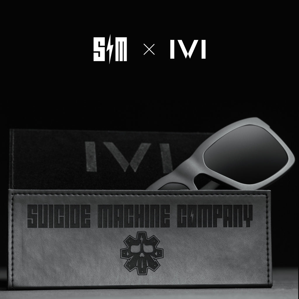 SM IVI VISION x SUICIDE MACHINE COMPANY LIMITED EDITION GIVING SUNGLASSES