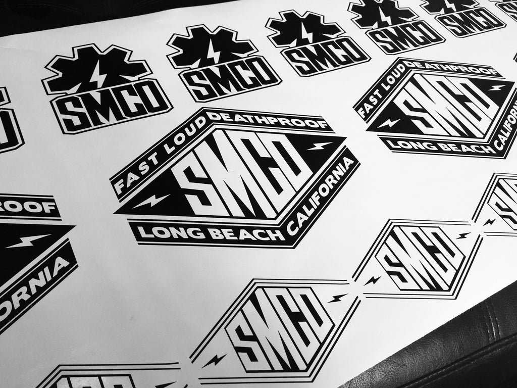 Vinyl DIE CUT DECALS