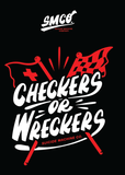 CHECKERS OR WRECKERS TEE
