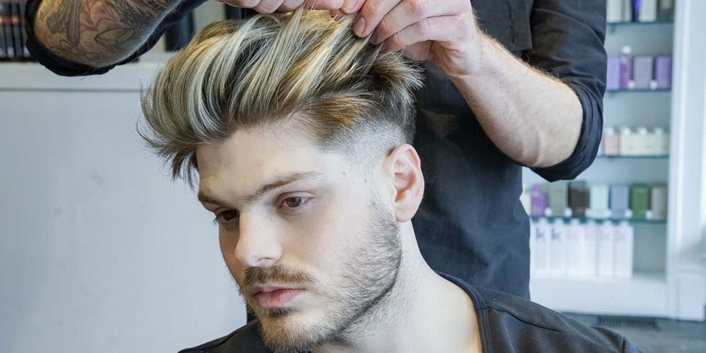 Hairstyle of men