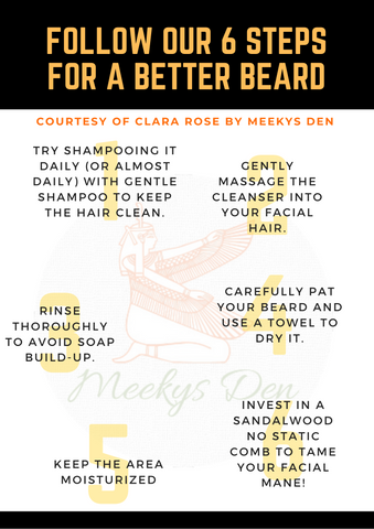 Follow Our 6 Steps For A Better Beard