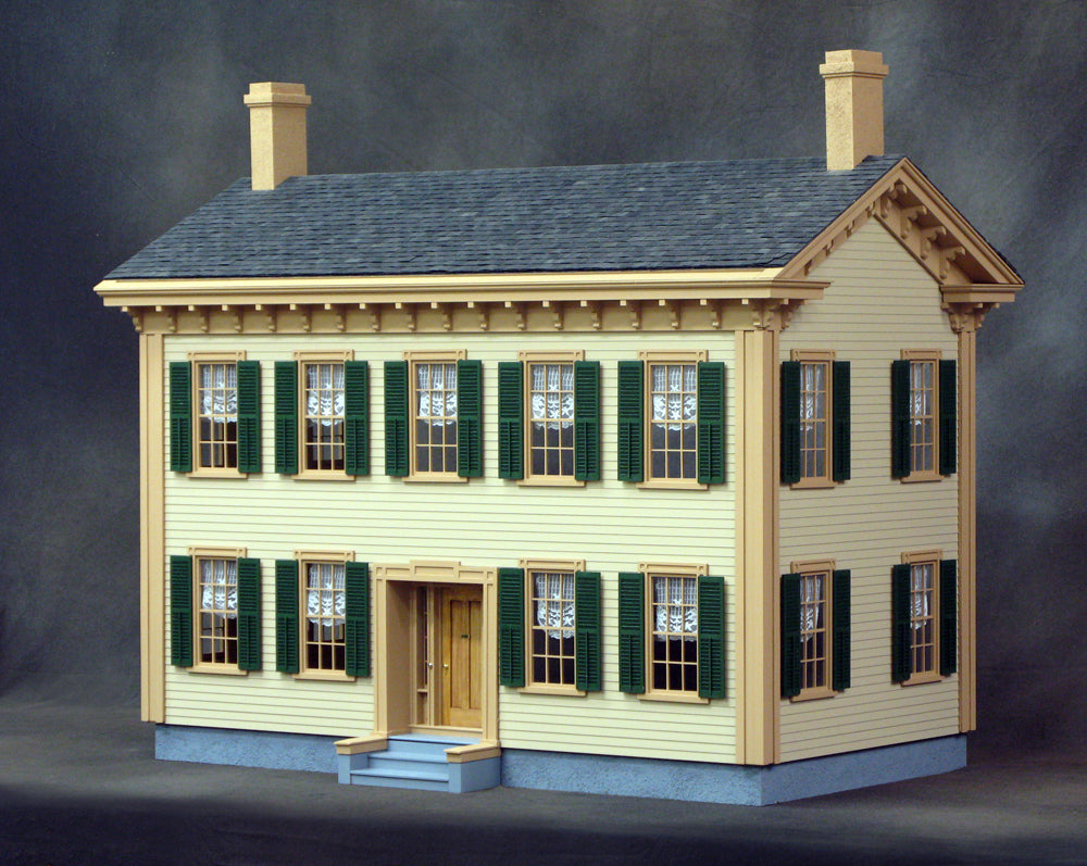 Dollhouse Kit Dollhouse Kits Wooden Dollhouse