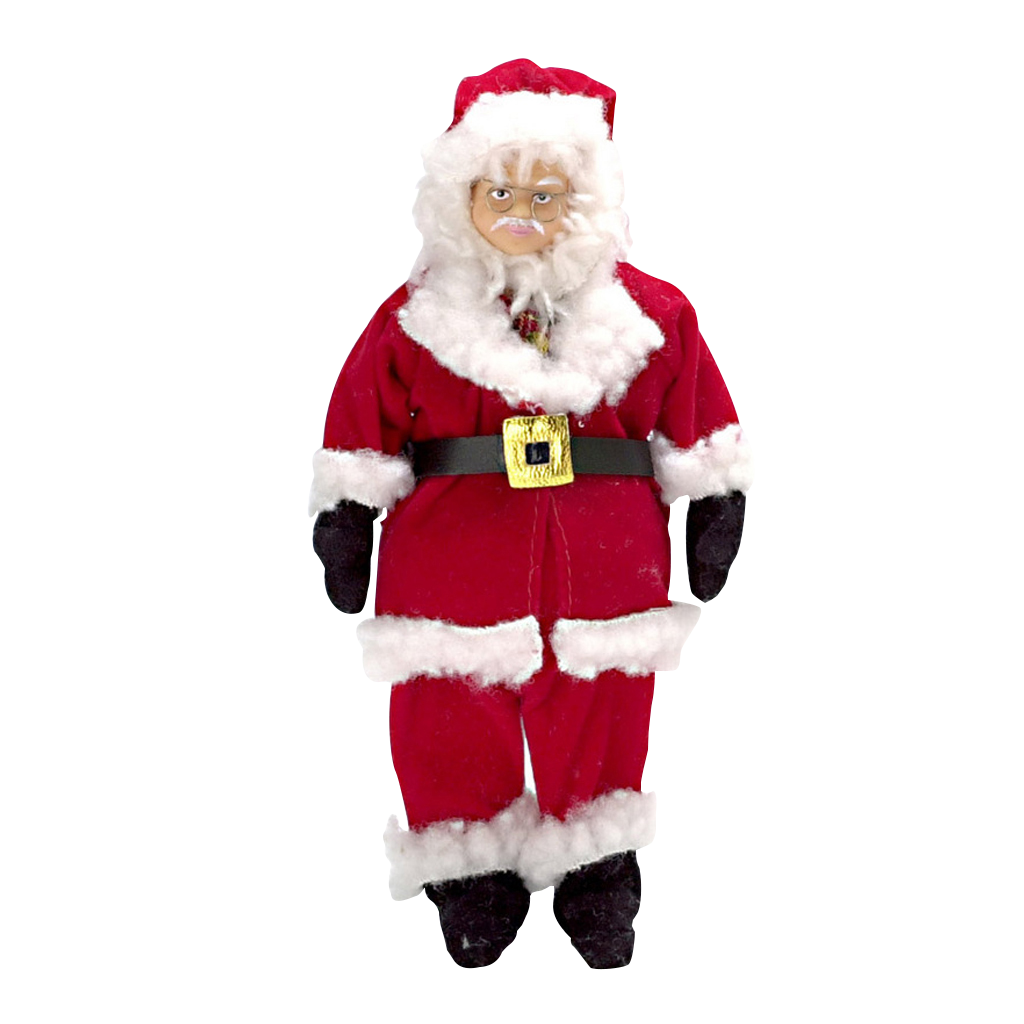 1 Inch Scale Santa Miniature Doll