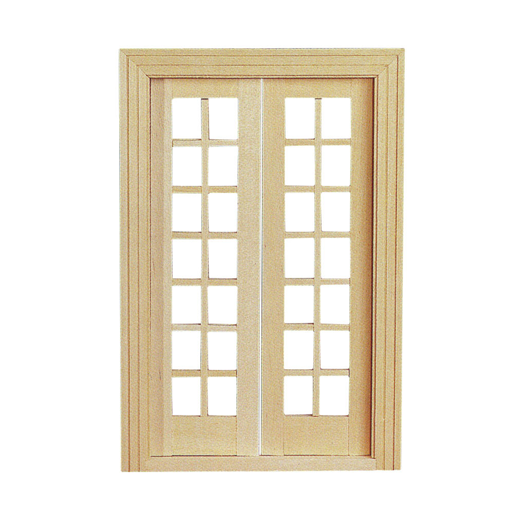 Double French Door with Mullions  sc 1 st  Real Good Toys & Double French Door with Mullions \u2013 Real Good Toys