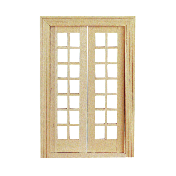 Double French Door with Mullions