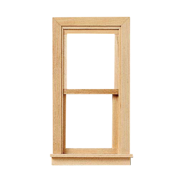 Traditional Colonial Non-Working Dollhouse Window