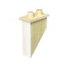 45 degree Angled Chimney (1 piece)