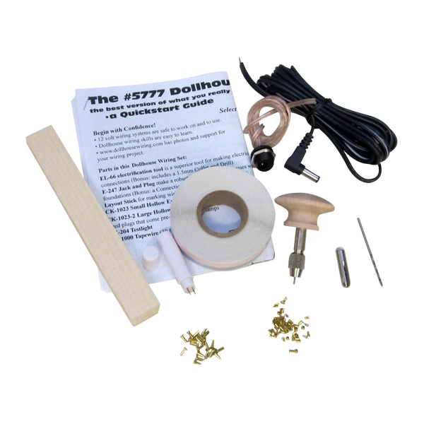 RGT's Custom Dollhouse Electrical Starter Kit