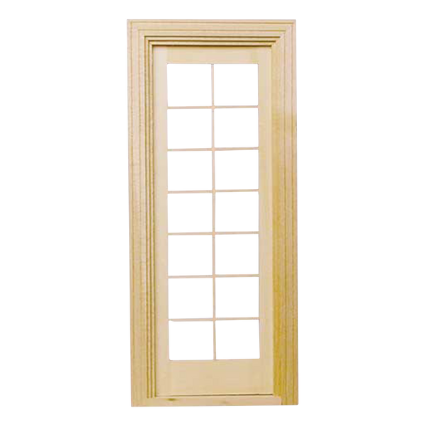 Single French Door with Mullions