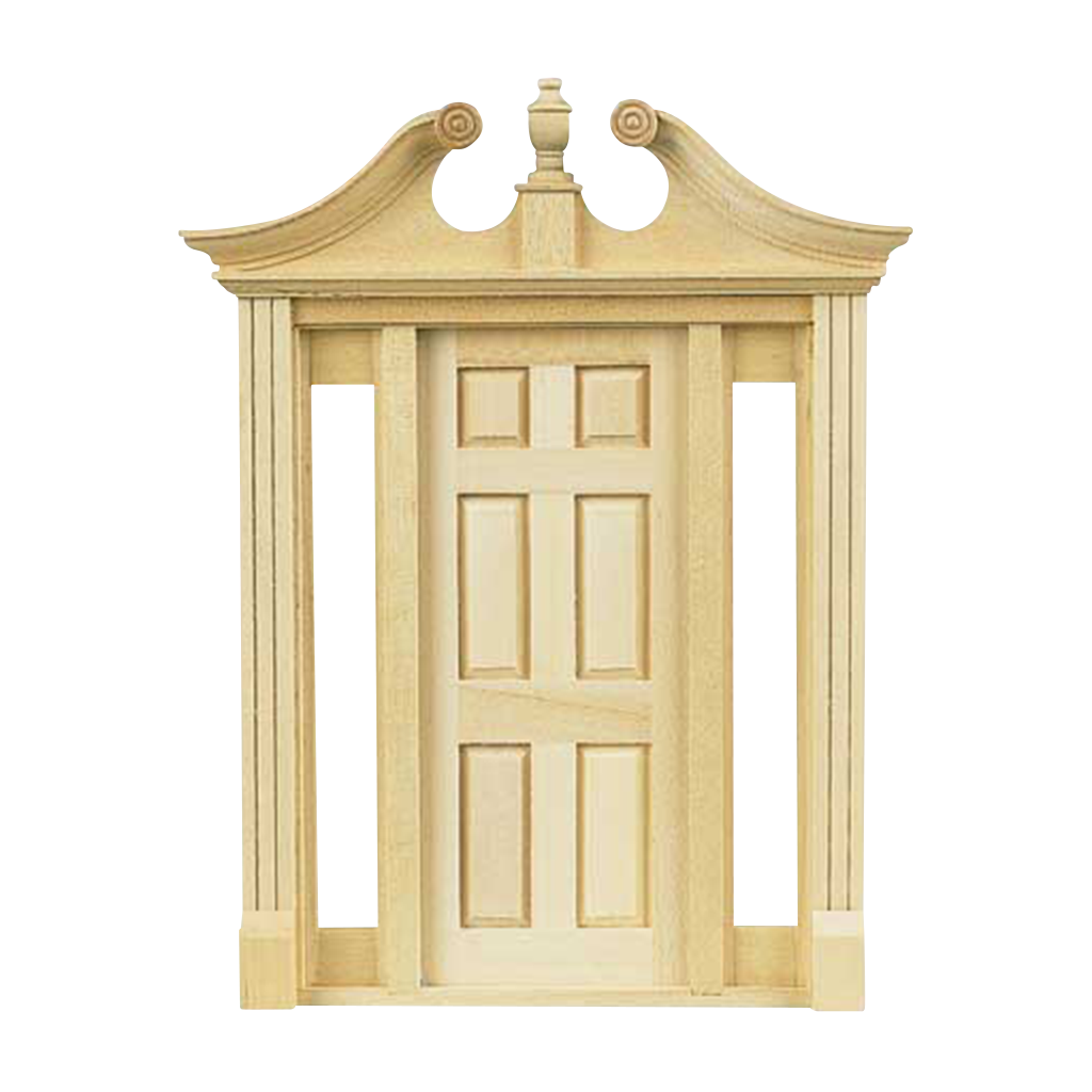 Deerfield Dollhouse Exterior Door with Sidelights