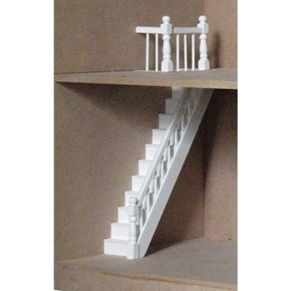 Dollhouse Banister U0026 Landing Rail Pack
