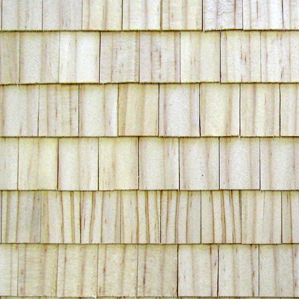 Imported Rectangular Wooden Roof Shingles (100 pieces)