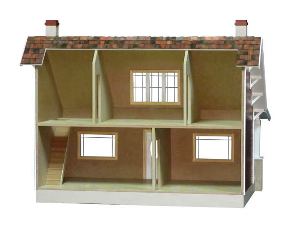 Classic Bungalow Dollhouse Kit Real Good Toys