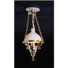 Victorian Chandelier Dollhouse Miniature Electrical Light