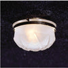 Frosted Shade Ceiling Dollhouse Miniature Electrical Light