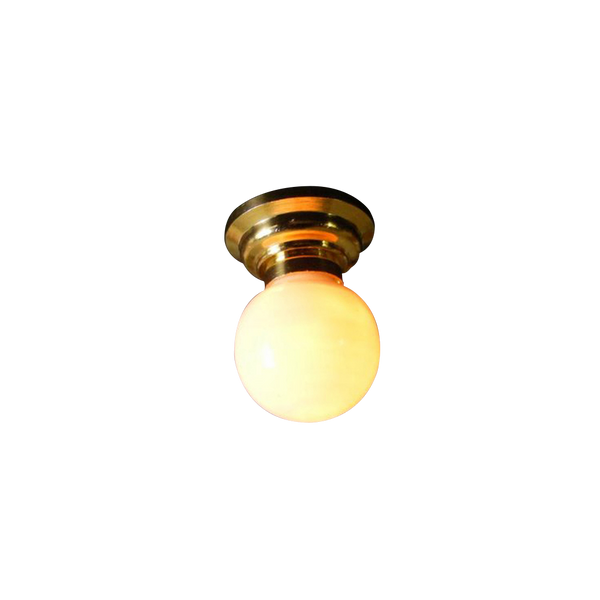 Globe Ceiling Dollhouse Miniature Electrical Light