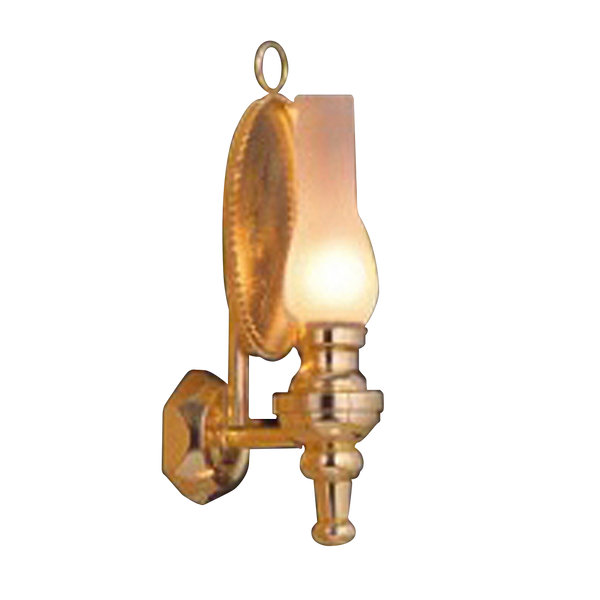 Oil Lamp Wall Sconce Dollhouse Miniature Electrical Light