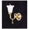 Tulip Shade Wall Sconce Dollhouse Miniature Electrical Light