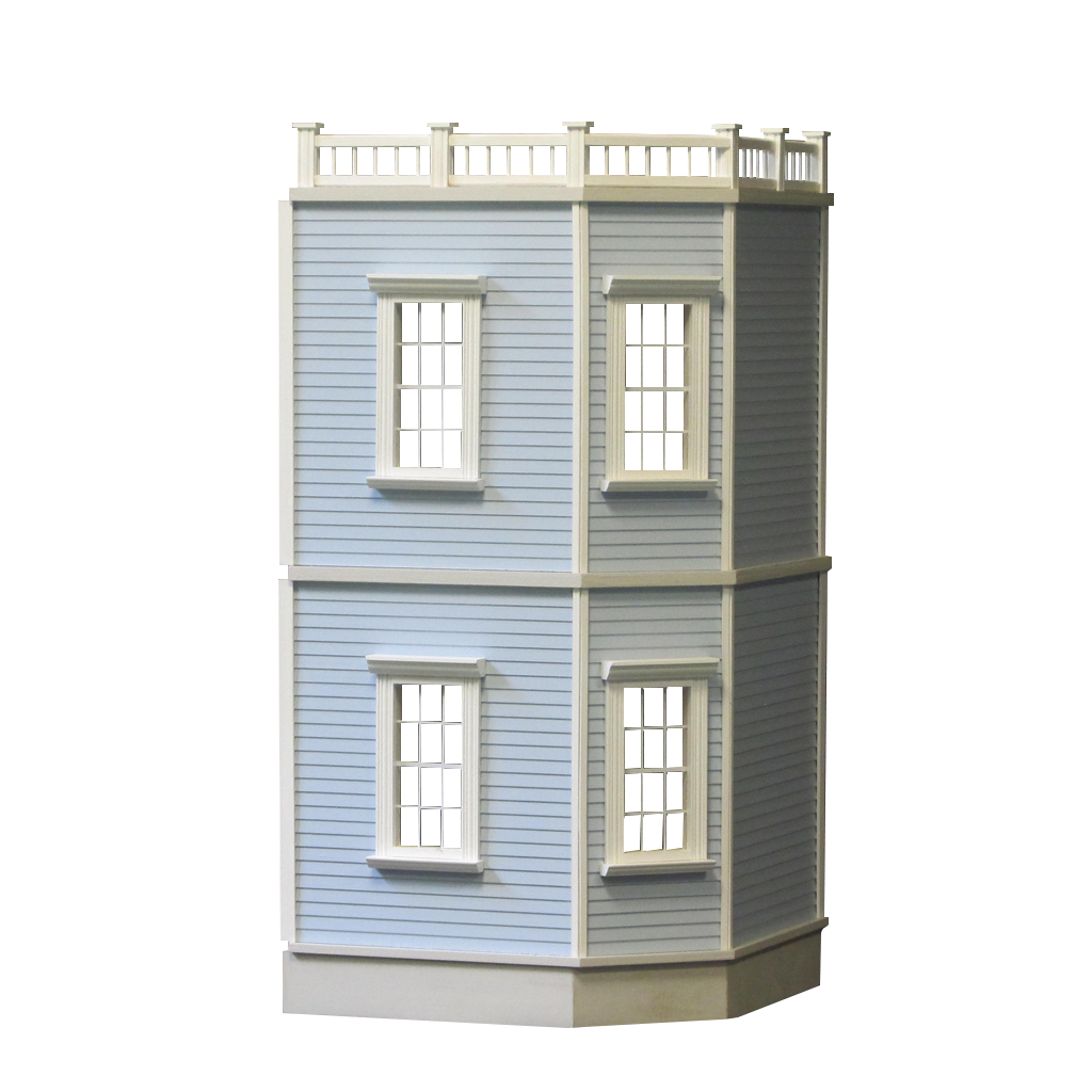 New Haven 2-Story Dollhouse Addition Kit