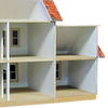 Colonial Dollhouse Addition Milled MDF - 5044