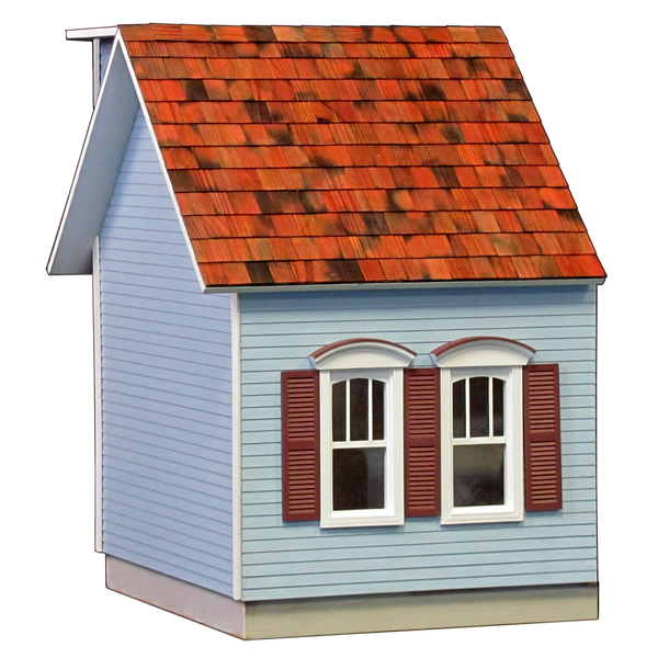 Colonial Dollhouse Addition Milled MDF - JQ13W