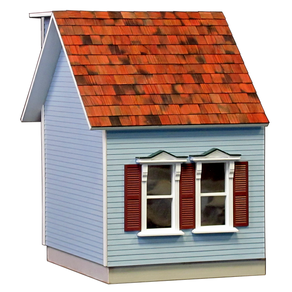 Colonial Dollhouse Addition Milled MDF - 5042