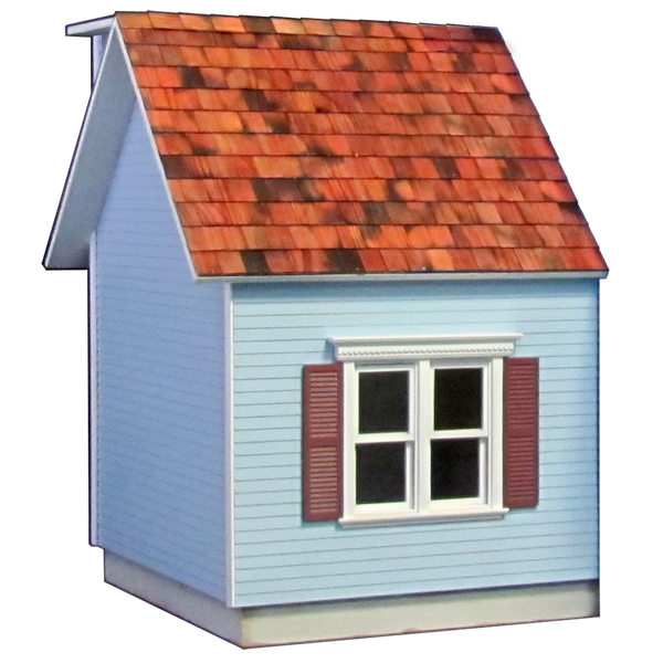 Colonial Dollhouse Addition Milled MDF - 5037