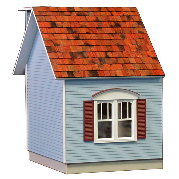 Colonial Dollhouse Addition Milled MDF - JQ23W