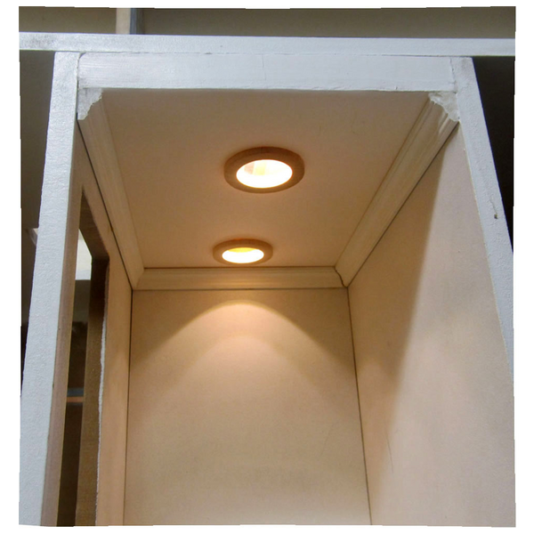 Light It Up Miniature Recessed Lighting Frame Kit Real