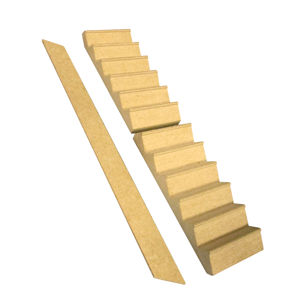 Dollhouse Stairs for Many Junior Dollhouses
