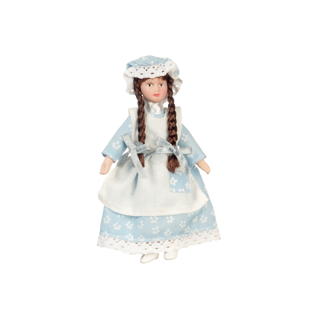 1 Inch Scale Porcelain Country Girl