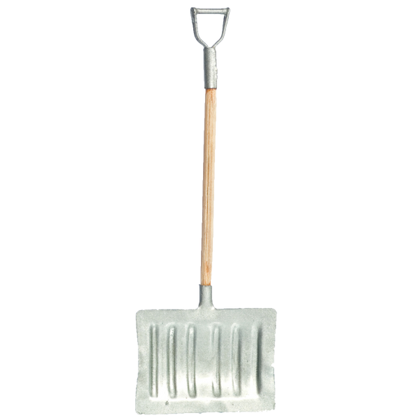 1 Inch Scale Dollhouse Miniature Snow Shovel