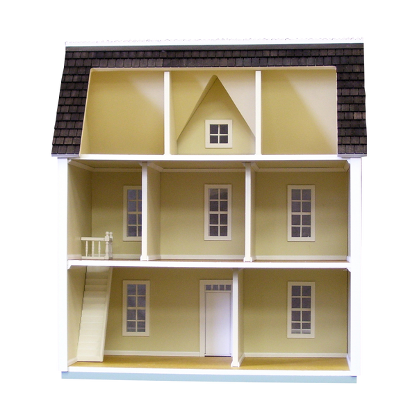 1 2 Inch Scale Farmhouse Dollhouse Kit Real Good Toys