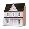 1/2 Inch Scale Farmhouse Dollhouse Kit