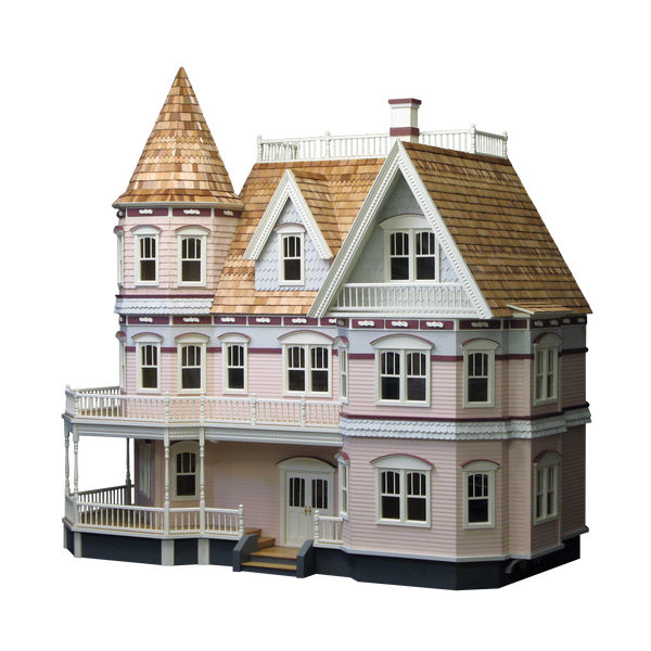 Queen Anne Dollhouse Kit Real Good Toys