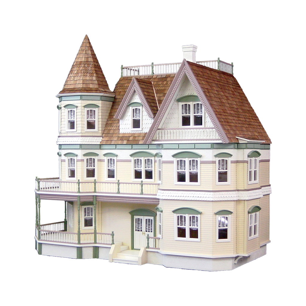 queen anne dollhouse kit the ultimate dollhouse dream house