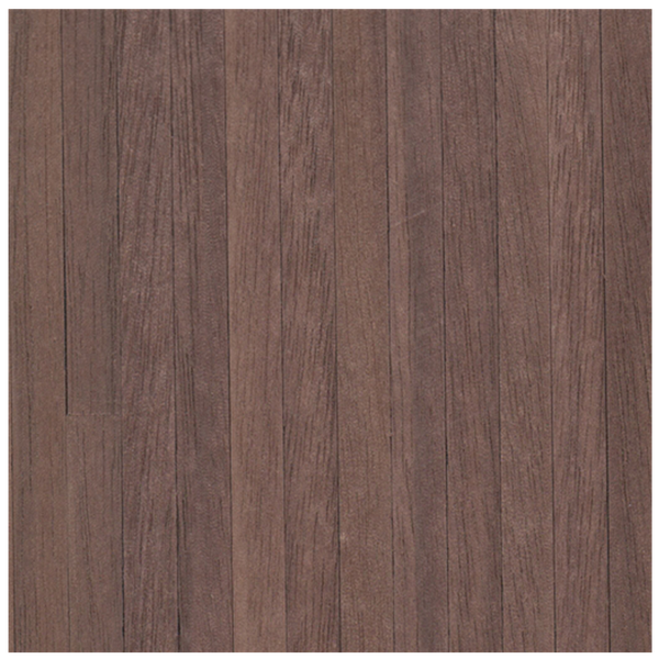 Houseworks Black Walnut Dollhouse Wood Flooring Self-Adhesive Sheet