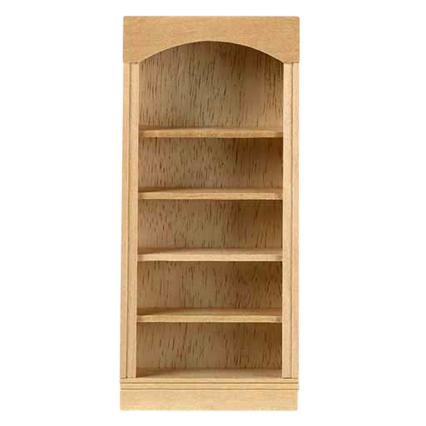 1 Inch Scale Houseworks 5-Shelf Bookcase Dollhouse Miniature