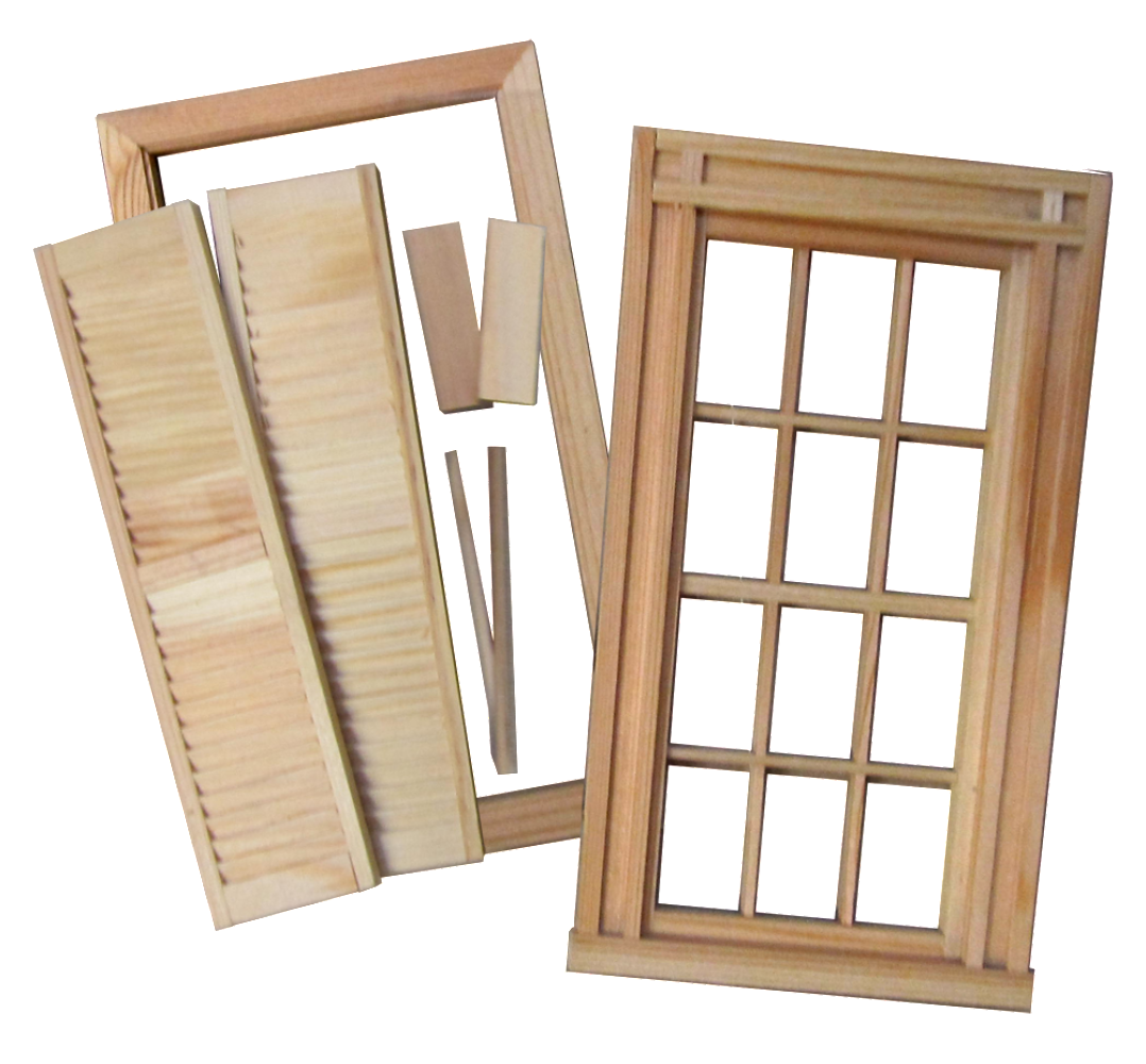 Federal Window & Shutter Kit