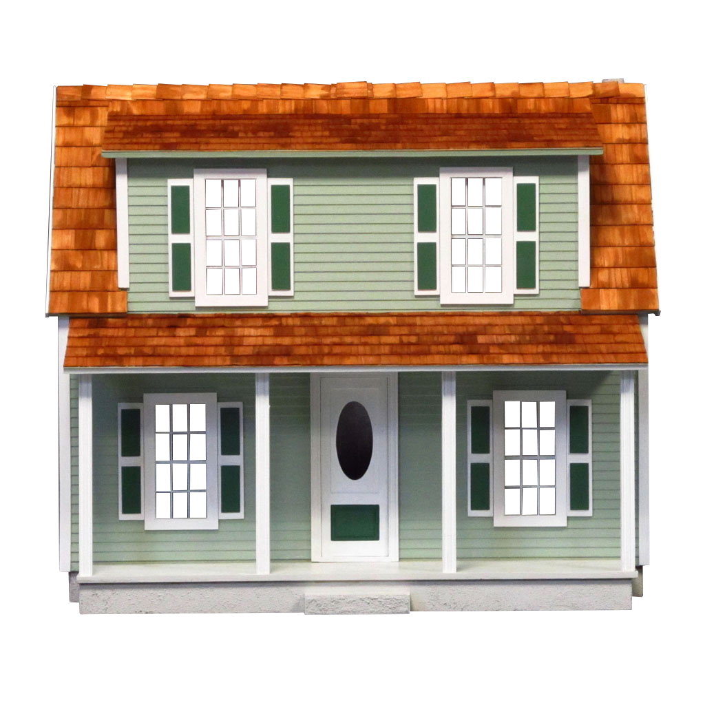 Charlie's Cozy Cottage Dollhouse Kit