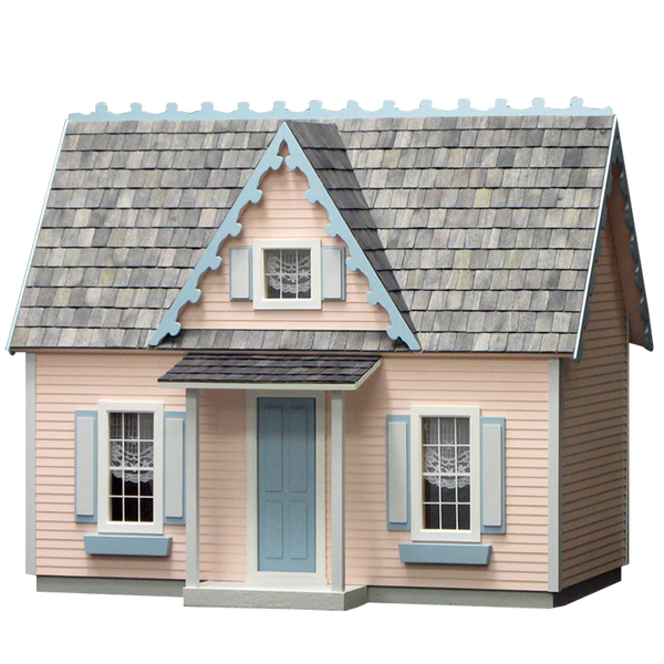 Victorian Cottage Jr. Dollhouse Kit Milled MDF