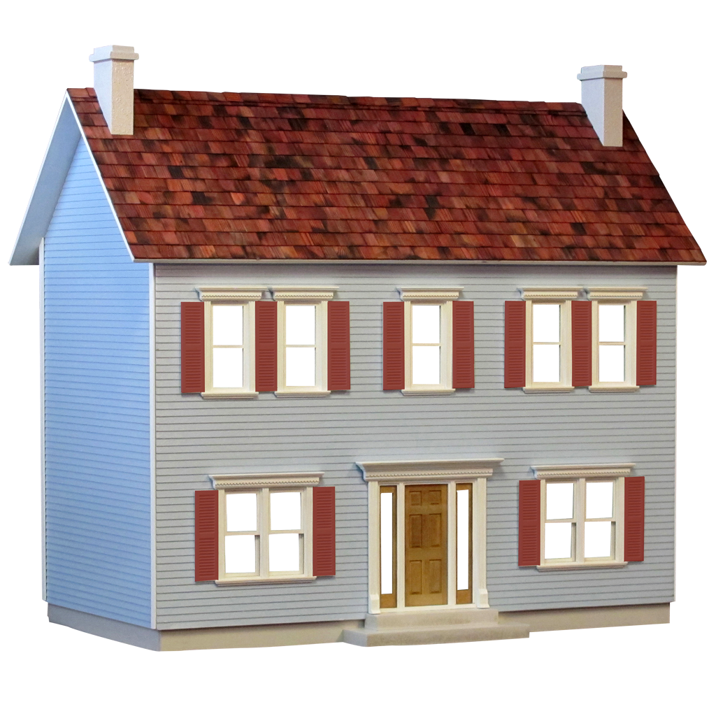 The Jamestown Dollhouse Kit