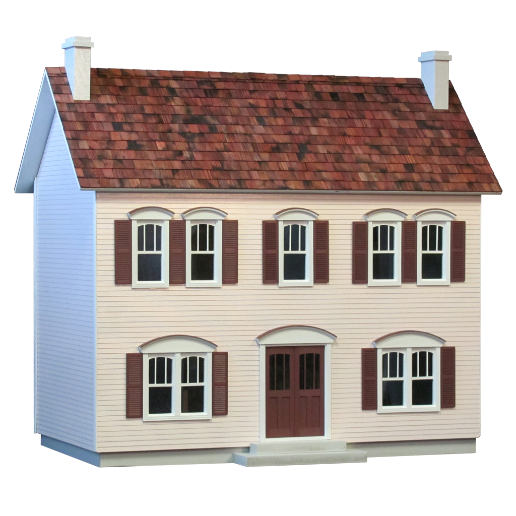 Oak Hollow Dollhouse Kit